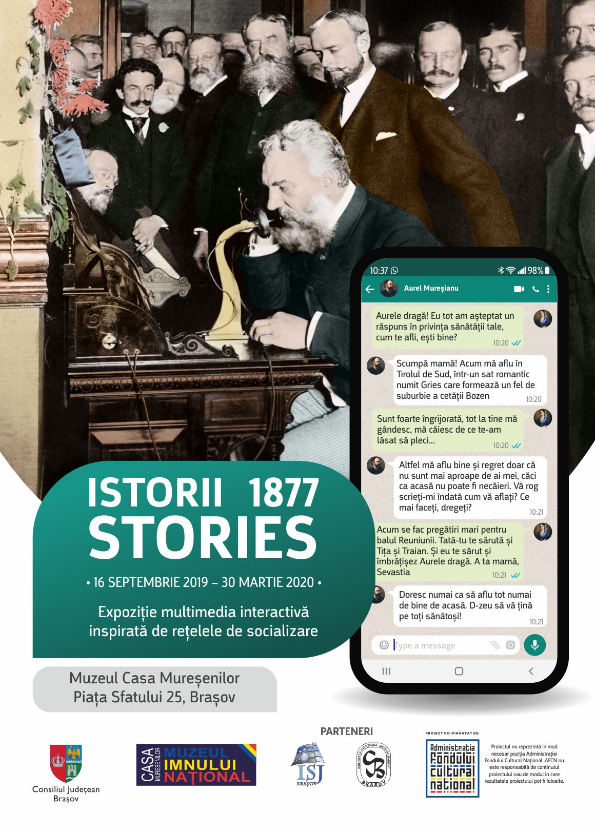 Poster A3 Istorii 1877 Stories final 2